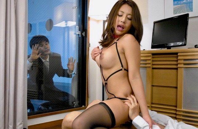 <松本メイ>隣家の青年を誘惑する不貞妻ww