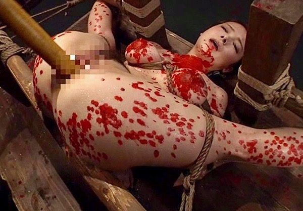 鶴田かな:最狂の拷問プレイを体験した女は最高のM女となるww
