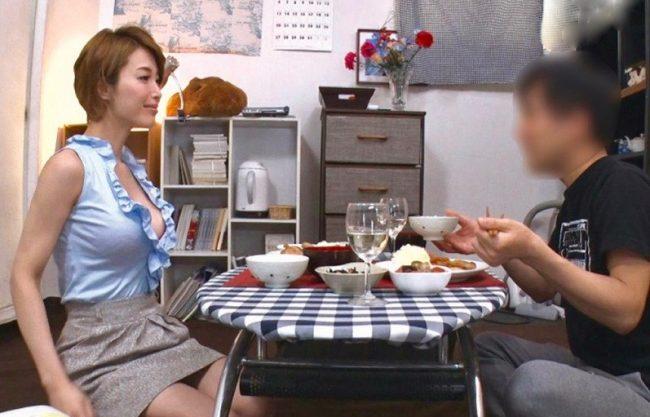 君島みお:妻が寝取られる姿を妄想して欲情する変態夫ww