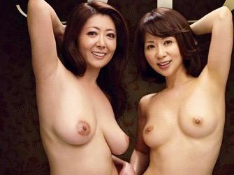 NTR:若い肉棒を奪い合う、熟した美人姉妹たちwww