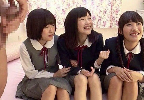 女子校生:「チンポの大きな男性を助けて欲しい」修学旅行JKのエッチな課外授業ww