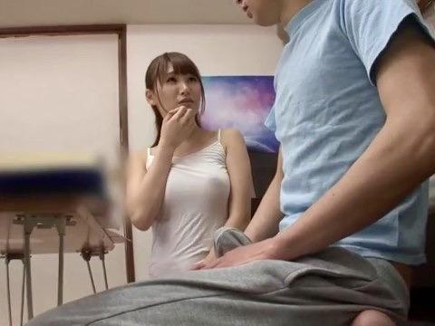 姉姦:「私で勃っちゃったの?」爆乳姉を寝取りたくて仕方がない弟チンポ!!