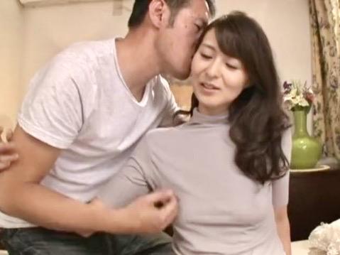北川礼子:「もう一度…私で抜いてください…」あの時のSEXが忘れられず再び寝取られにやって来た四十路人妻NTR姦ww