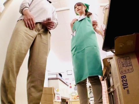 企画:焦らしは最高の媚薬??ご無沙汰と思しき人妻はパート中にセンズリ見せつけられて、もう股間が耐えきれないwww