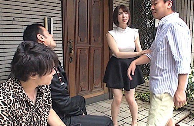 かなで自由:「奥さんのオマンコ、気持ちいいよ!!」所のDQN共と妻が中出しセックスしまくっていた人妻ww
