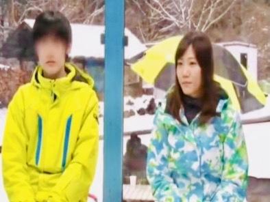 企画:スキーウェアが似合う女子大生が卑猥なオイルマッサージで発情最高潮!!発情ボディーが止まらない生ハメ姦@魔法鏡号